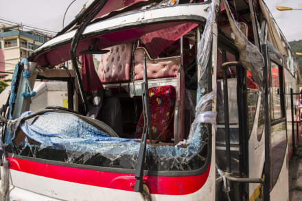 Choque de autobús en Perú deja 16 personas muertas, entre las víctimas hay dos alemanes