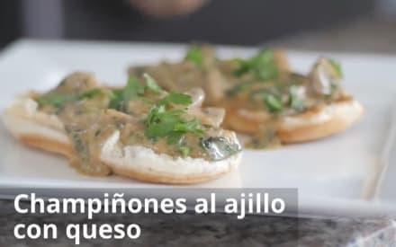 Sorprende a tu gran amor cocinando champiñones al ajillo con queso ¡Delicioso!