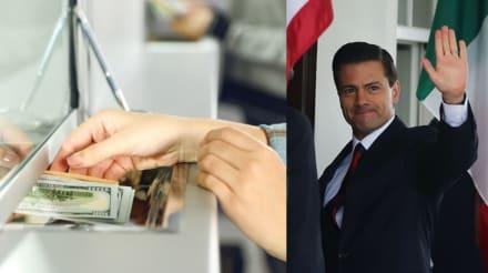 Informe de gobierno: Remesas enviadas a México crecieron 35% con Peña Nieto