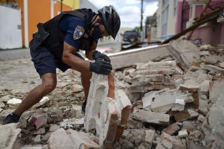 Reportan daños estructurales y cortes de luz tras sismo en Puerto Rico