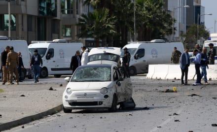 Terrorista se inmola cerca de la embajada de EE. UU. en Túnez y deja 5 heridos (FOTOS Y VIDEO)