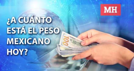Peso mexicano 18 de diciembre, dólar se vende así