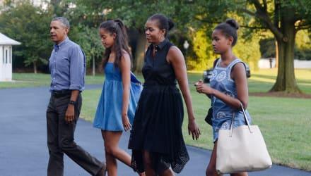 Barack Obama revela que pasaron la cuarentena con sus hijas y el novio de Malia