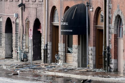 Explosión en Nashville: FBI y policía buscan al responsable y ofrecen recompensa de $300 mil