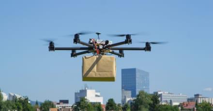 Los drones para entregas a domicilio están más cerca que nunca