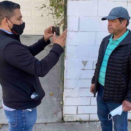Hispano sufre presunto ataque racista en Los Ángeles (FOTO+VIDEO)