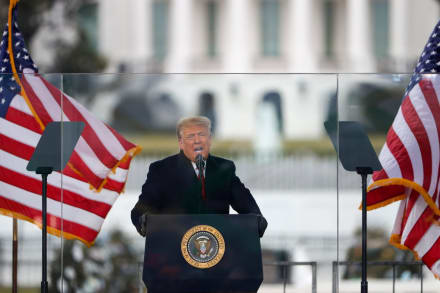 Trump encabeza protestas previo a certificación de Biden este 6 de enero