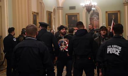 ÚLTIMA HORA: Reportan hombre armado en el Capitolio de EEUU