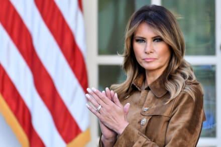 Se revela lo que la primera dama Melania Trump hacía durante el caos en el Capitolio
