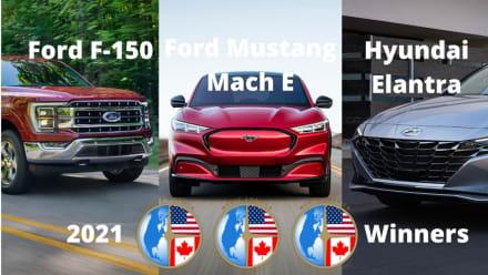 Premios Nactoy 2021: Ford y Hyundai, los mejores autos en Norteamérica
