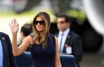 ¡Ya se puso a trabajar! Igual que Trump, ahora Melania abre su propia oficina e informa lo que hará