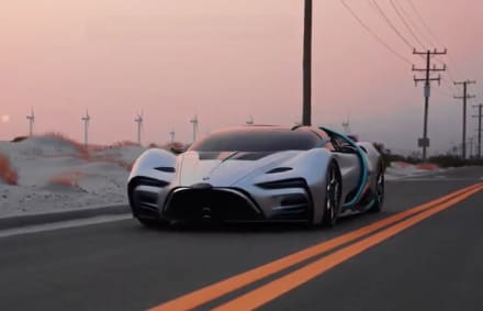 ¿Qué esperan del auto Hyperion XP1 visto camuflado en Las Vegas?