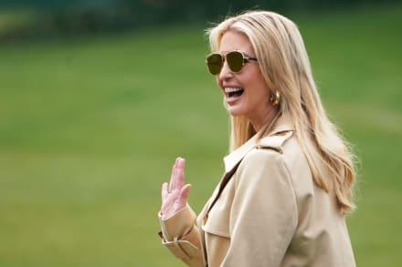 Descubren a Ivanka Trump tomando el sol junto a su esposo en playa de Miami