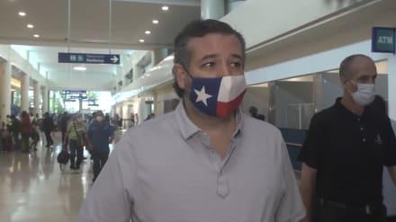 Ted Cruz dice que los medios están 'obsesionados' con su viaje a México