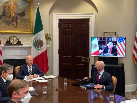 """Reunión de Biden y AMLO: México y EE.UU. son """"más fuertes"""" cuando trabajan juntos"""