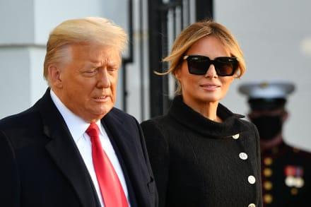 Donald y Melania Trump se vacunaron 'discretamente' antes de salir de la Casa Blanca
