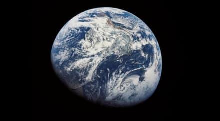 Logra verse por primera vez en la historia un huracán espacial