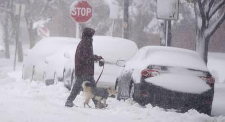 Más de 7 millones de personas bajo alerta por fuertes nevadas en EE.UU.