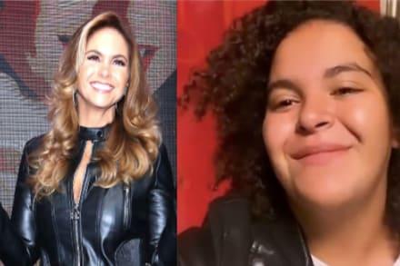La Chacha (16 de Marzo) Lucerito Mijares sorprende al hablar 'idéntico' a su mamá en una entrevista (VIDEO)