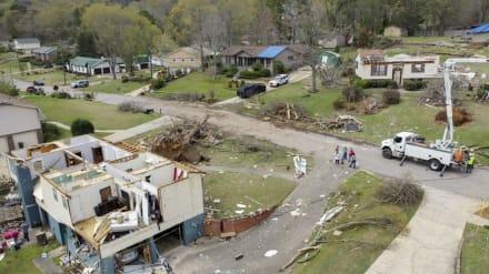 Amenaza de tornado pone a 70 millones de personas en zona de peligro