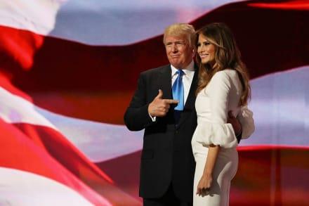 Oficina 45, nueva web de Trump para comunicarse con él y Melania