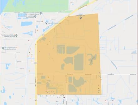 Emergencia y evacuación en condado de Florida por riesgo de derrame en planta de fosfato