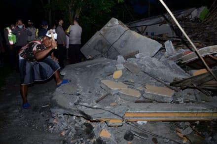 Confirman 7 muertos tras sismo de 6.0 en Indonesia: