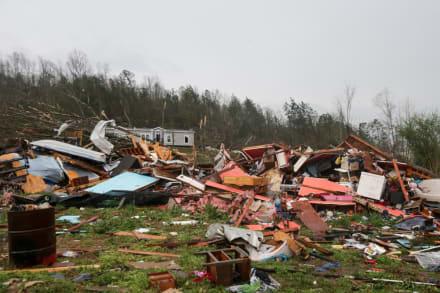 Alerta de tornado: tras 'devastación' por tormentas en el sur de Estados Unidos