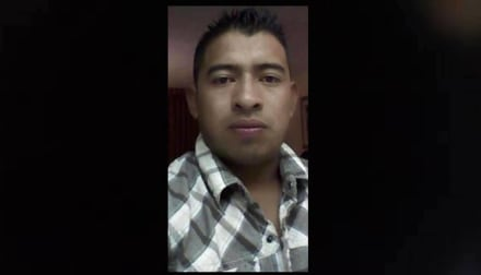 Juan López López, padre soltero de una niña, fue asesinado a balazos