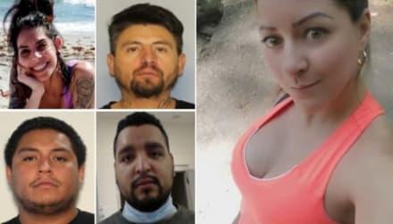 Los cinco sospechosos del asesinato de Rossana Delgado siguen huyendo, a pesar de que ya hubo un arresto