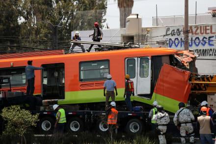 Identifican víctimas de la tragedia del metro en México (FOTOS)