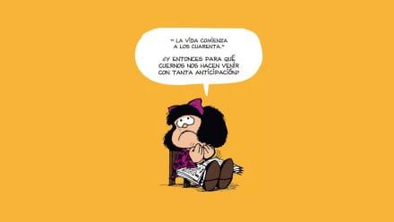 31 frases de Mafalda para sobrevivir 2021