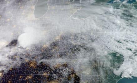 Rara nevada en Día de las Madres para varios estados de la zona de los Grandes Lagos