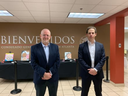 Inauguran Jornada Nacional Extraordinaria de Emisión de Pasaportes en el Consulado General de México en Atlanta