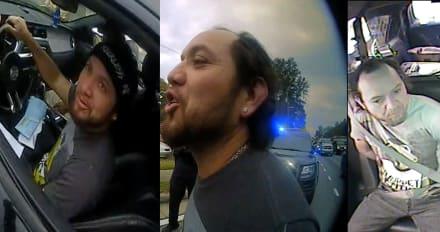 Crónica: Salvadoreño se cansa de ser arrestado por conducir sin licencia
