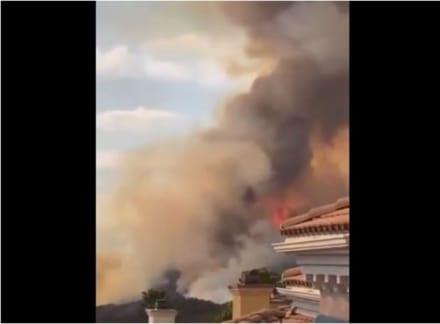 Estalla incendio forestal en California y ordenan evacuaciones