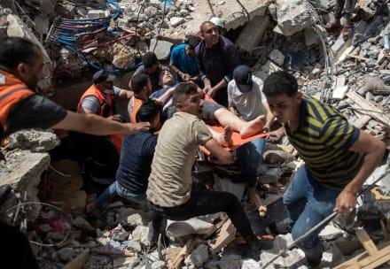 Israel mostró a Biden evidencia de Hamas operando en edificio de prensa atacado en Gaza