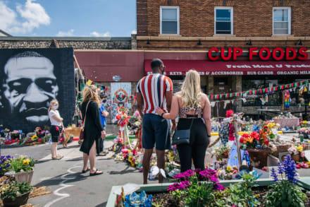 Se desata tiroteo en el lugar donde mataron a George Floyd a un año de su muerte