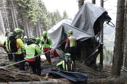 Juez en Italia considera culpable al técnico de las muertes en accidente de teleférico