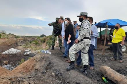 Suman tres mineros hallados sin vida tras derrumbe en el norte de México