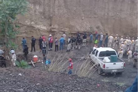 ÚLTIMA HORA: Confirman saldo mortal tras colapso de mina en México