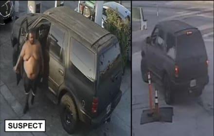Capturan a hombre de 136 kilos que le dio golpiza a hispana en gasolinera (Video)