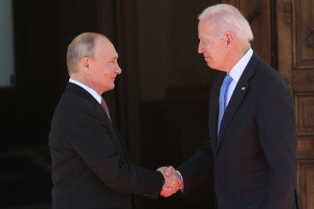 Cara a cara: Biden y Putin se reúnen en Ginebra en medio de tensión entre EE.UU. y Rusia