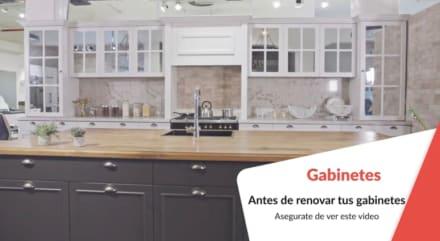 Consejos para comprar los gabinetes ideales para tu cocina (Video)