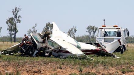Accidente de avión en Arizona, rescatan a 4 después de que se estrellaran