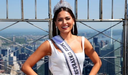 Andrea Meza, la Miss Universo mexicana, calla a quienes la critican por tener novio