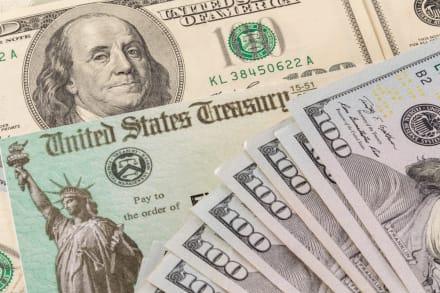 IRS envía nueva ronda del cheque de $1,400 a 2.3 millones de beneficiarios