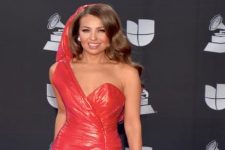 Thalía queda en 'ridículo' tras foto de su rostro y la terminan confundiendo con Chiquis Rivera (FOTOS)