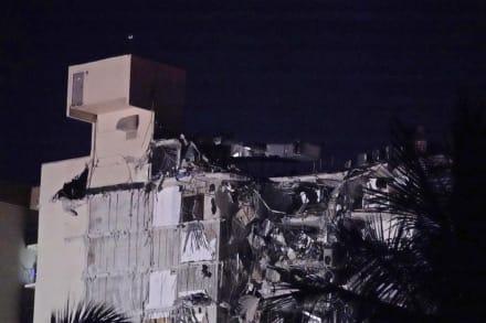 Al menos un muerto tras derrumbe parcial de edificio en Miami Beach; hay 51 desaparecidos (FOTOS)