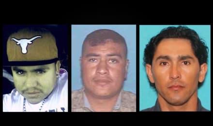 ¿Ha visto a estos tres fugitivos por abuso sexual de menores? (FOTOS)